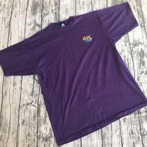 Reebok Shirts - Vtg T-Shirt Purple Reebok XL 90s Above The Rim